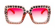 Óculos de Sol Acetato Ocean Feminino Rosa