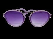 Óculos de Sol Acetato Ocean Feminino Transparente Roxo