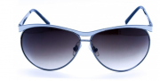 Óculos de Sol Metal Feminino Branco