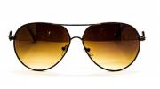 Óculos de Sol Metal Feminino Bronze