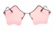 Óculos de Sol Metal Feminino Clean Rosa