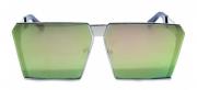Óculos de Sol Metal Feminino Flat Lens Rosa