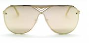 Óculos de Sol Metal Feminino Flat Lens Rose
