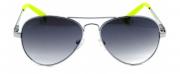 Óculos de Sol Metal Feminino Preta c Amarelo
