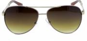 Óculos de Sol Metal Feminino Rosa