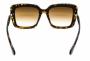 Óculos Acetato Feminino Estampado Marrom