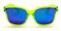 Óculos Acetato Feminino Flat Lens Verde Lt Azul