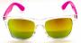 Óculos Acetato Feminino Transparente c/ Rosa