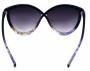 Óculos de Sol Acetato Feminino Estampado Lilás