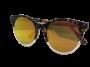 Óculos de Sol Acetato Feminino Estampado Lt. Laranja