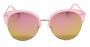 Óculos de Sol Acetato Feminino Flat Lens Rosa