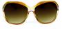 Óculos de Sol Acetato Feminino Laranja
