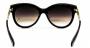 Óculos de Sol Acetato Feminino Preto c/ Dourado