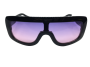 Óculos de Sol Acetato Feminino Preto Lt. Rosa