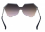 Óculos de Sol Metal Feminino Azul