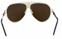 Óculos de Sol Metal Feminino Dourado