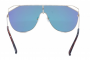 Óculos de Sol Metal Feminino Flat Lens Dourado Lt Rosa