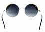 Óculos de Sol Metal Feminino Prata