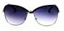Óculos Metal Feminino Preto c/ Prata