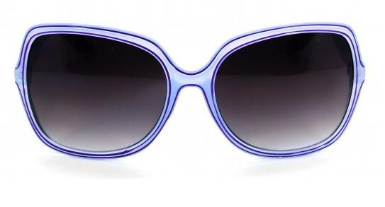 Óculos Acetato Feminino Cinza c Lilás