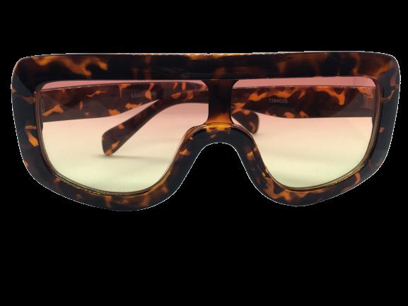 Óculos de Sol Acetato Feminino Estampado Lt Rosa