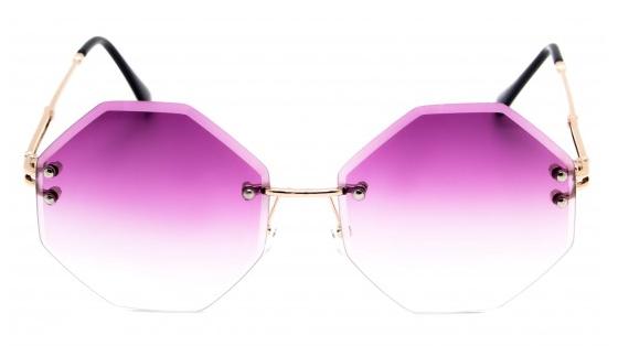 Óculos de Sol Metal Feminino Roxo