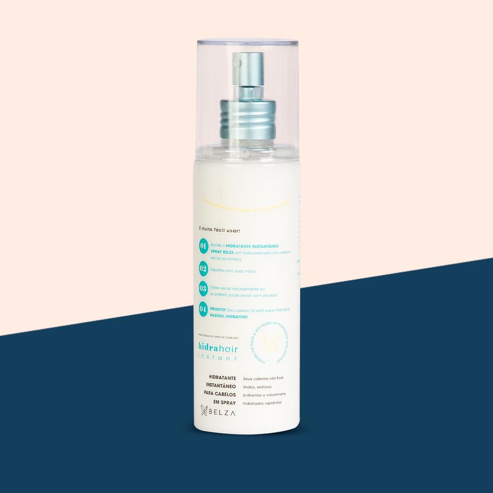 KIT Shampoo + Condicionador + Máscara + Spray hidrahair instant