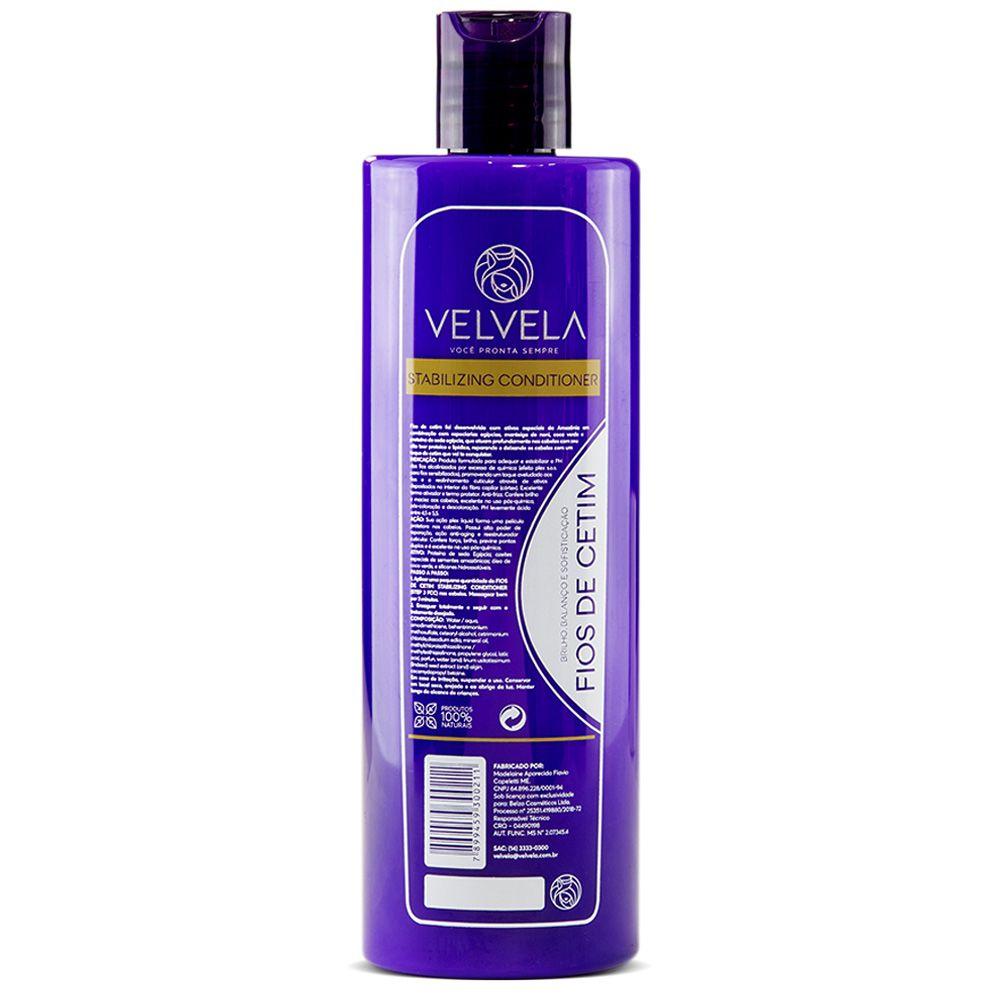 Kit Shampoo e Condicionador Fios de Cetim
