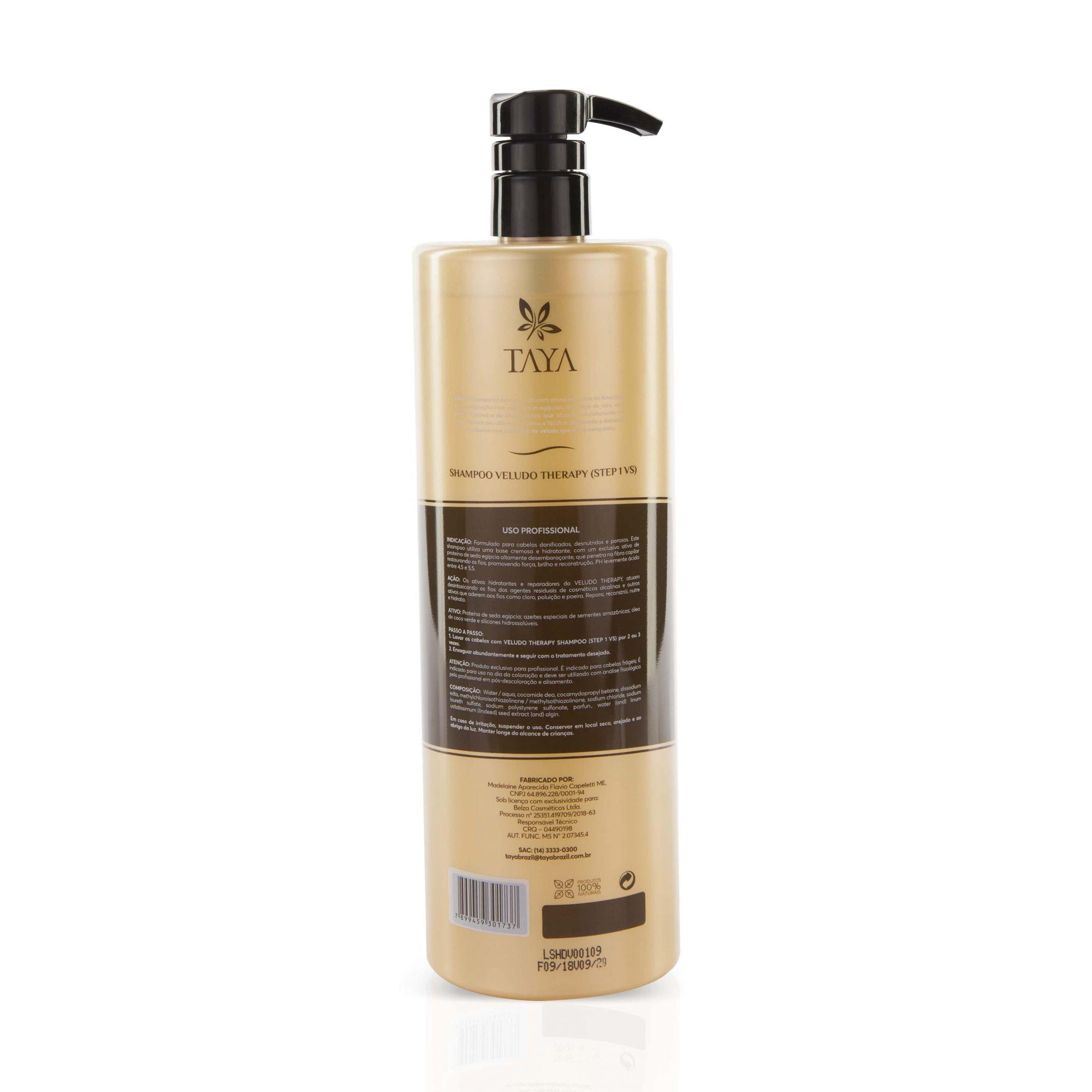 kit Shampoo e Máscara de Hidratação - Linha Profissional