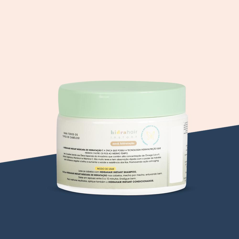KIT Shampoo + Máscara hidrahair instant