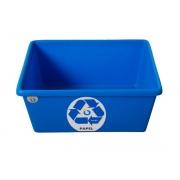 Cesto para Lixo (Caixinha p/ Papel) Polietileno de Média Densidade 15.8L - Prime - Só Lixeiras