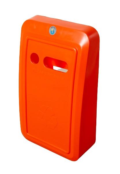 Coletor para Pilhas e Baterias Polietileno de Média Densidade - Prime - Só Lixeiras
