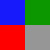 Azul/Verde/Vermelho/Cinza
