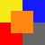 Amarelo/Azul/Vermelho/Cinza/Laranja