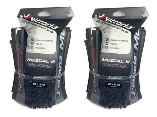 2 Pneu Vittoria Mezcal Xc Trail 29x2.25 Tnt Grafeno 2.0 Par