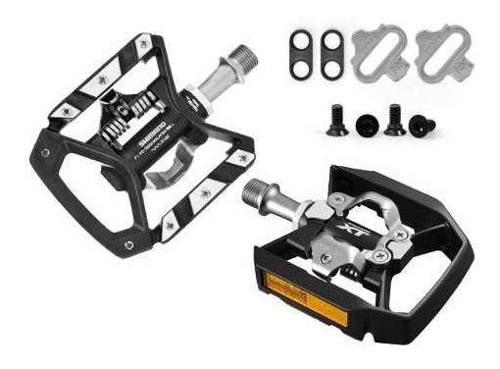 Pedal Shimano Xt T8000 Plataforma E Clip + Tacos Sh56 Mtb