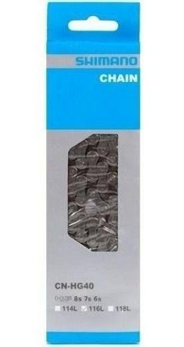 Cassete Shimano Hg31 Altus 11-34 8v + Corrente Shimano Hg40