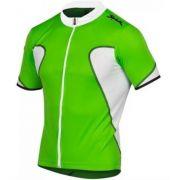 Camisa Ciclismo Spiuk Anatomic Verde/branco Tam. M