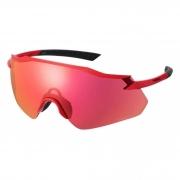Óculos Shimano Equinox 4 Vermelho Lente Ridescape Road