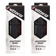 Pneu Vittoria Zaffiro Pro V 700x28c Grafeno 2.0 Par 2 Uni