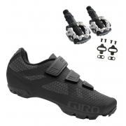 Sapatilha Giro Ranger + Pedal Clip Shimano M520 + Tacos Mtb