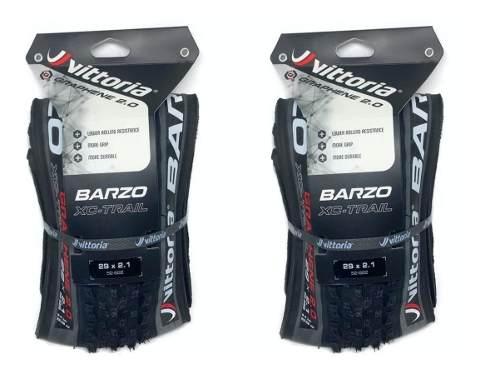 Par Pneus Vitoria Barzo Xc Trail Tnt 29x2.10 Grafeno 2.0 Mtb