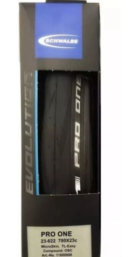 Pneu Schwalbe Pro One Evo Microskin 700x23 Tubeless Speed
