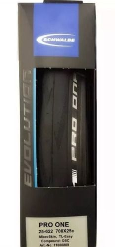 Pneu Schwalbe Pro One Evo Microskin 700x25 Tubeless Speed