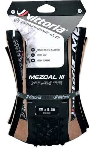 Pneu Vittoria Mezcal 3 Xc Race Graphene 2.0 4c 29 X 2.25 Tlr