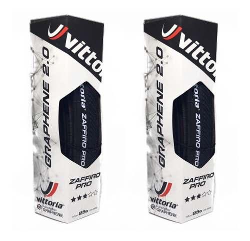 Pneu Vittoria Zaffiro Pro Iv 700x25c Grafeno 2.0 Par 2 Uni