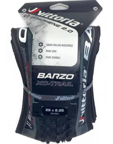 Pneu Vittoria Barzo Xc Trail 29x2.25 Tlr Grafeno 2.0 Mtb