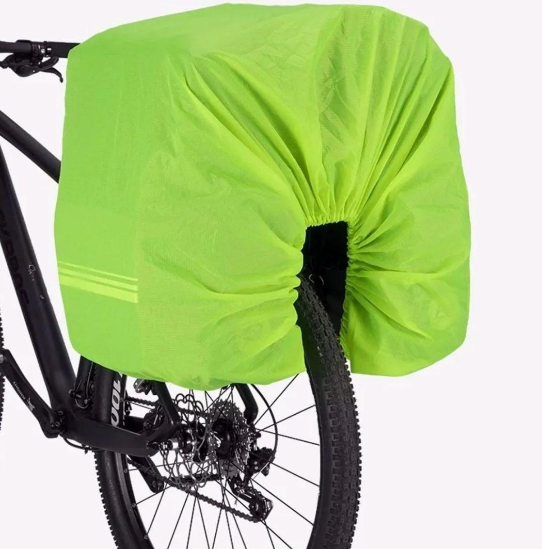 Alforges Bike Bagageiro Rockbros 48 Litros 3 Em 1 Mochila
