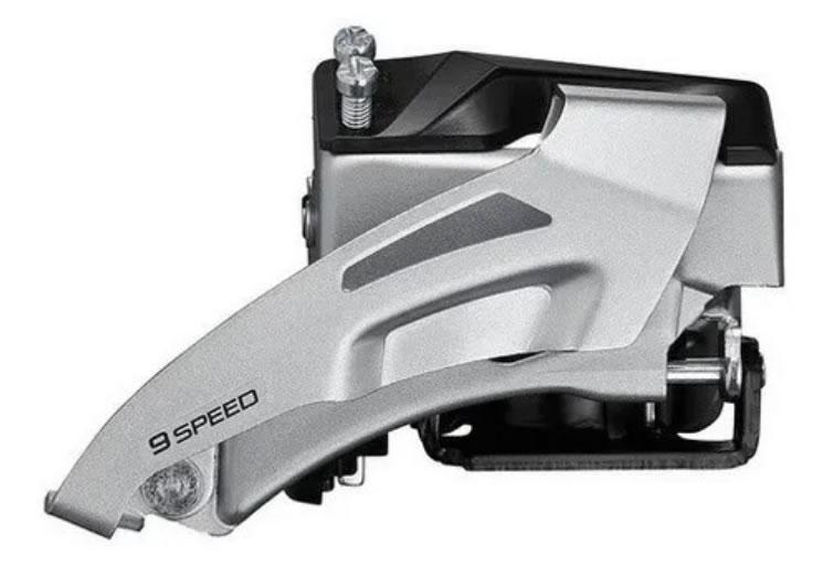 Câmbio Dianteiro Shimano Altus M2020 34.9mm Duplo 9 Vel