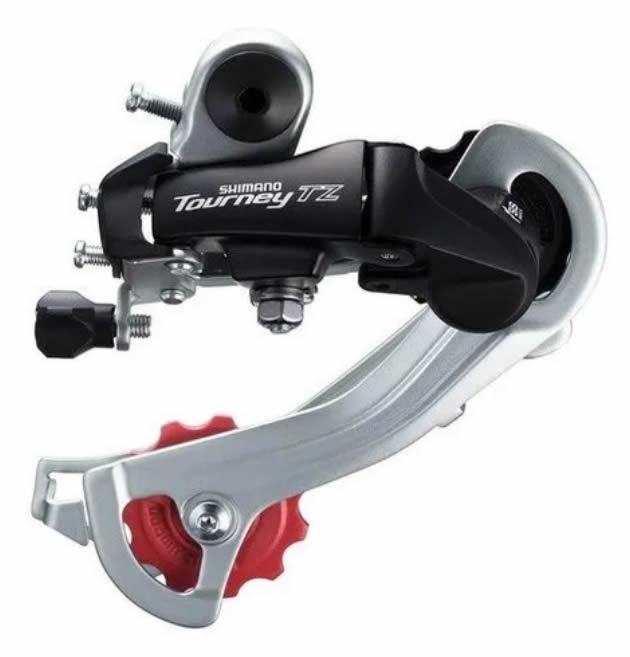Cambio Shimano Traseiro Tourney Rd-tz400 Gs 6/7v S/ganch
